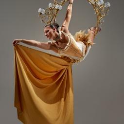 Golden Chandelier 1